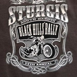 Men's Sturgis Motorcycle Rally T-Shirt 2014